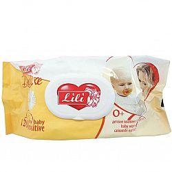 Влажные салфетки  Lily Deluxe с Ромашкой 72шт. КЛАПАН