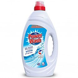 Гель для прання Power Wash 4 Л для білого