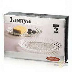 Блюдо овальное-менажница 185*220мм Konya 2шт 54332b