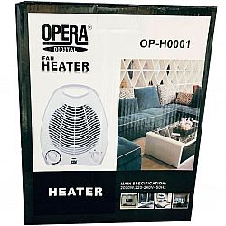 OP-H 0001 Тепловентилятор OPERA,2000Вт