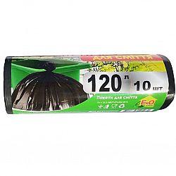 EkO plus Мусорный пакет 120*10(черные)