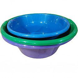 Миска пластик 22л цветная