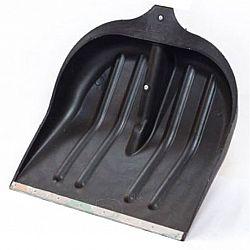 Основа лопаты снегоуборочной черная с металл.окантовкой 35см
