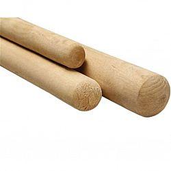 Черенок деревянный для лопаты 120см