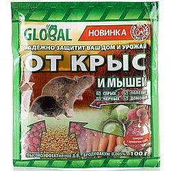 Средство от крыс в гранулах Глобал