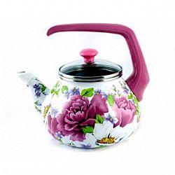2545 Чайник эмалированный с бакелит ручкой 2,2л ПИОН (ТУР.)