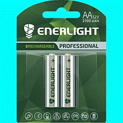Батарейка аккумуляторная ENERLIGHT Professional AA 2700mAh 2шт блистер