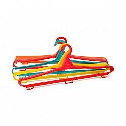 Плечики одежные большие цветные пластик 460мм