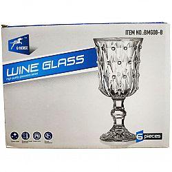 Набор бокалов для вина Сrystal G Horse 6шт 210мл