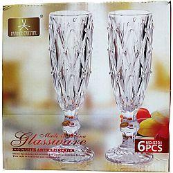Набор бокалов для шампанского Сrystal Glassware 6шт 170мл