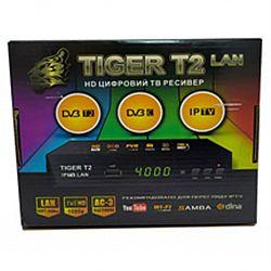 Т2 ресивер тюнер TIGER+IPTV LAN