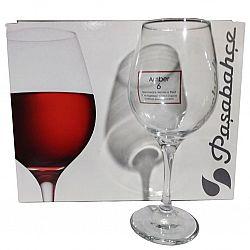 Бокал для вина 365мл 6шт Amber 440265