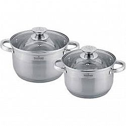 Набор посуды 4 пр (каст.2,0л+каст.3,0л)MK-3504А