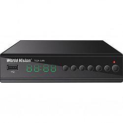 Т2 ресивер тюнер Т2 World Vision T62A.LAN+IPTV