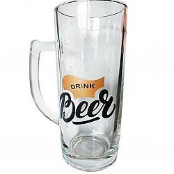 """Бокал для пива Минден""""Drink Beer"""" декор 500мл"""