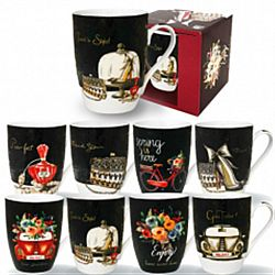 "Чашка керамика ""Винтаж"" в подар.упаковке 350мл"