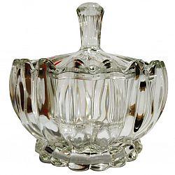 Сахарница с крышкой в подар.упаковке 100мм Crystal Perseus
