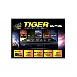 Т2 ресивер+спутниковый тюнер TIGER COMBO T2/S2