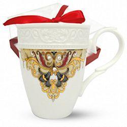 """Чашка фарфор """"Амели"""" в подарочной уп, 300мл"""