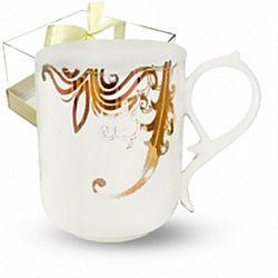 """Чашка фарфор """"Жаклин"""" в подарочной уп, 360мл"""