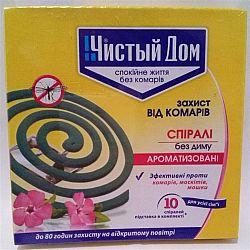 Спираль Чистый дом против комаров
