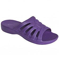 Шлепки женские Комфорт (р. с36 по 41) фиолетовые по 6шт в уп.