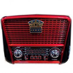 Радиоприёмник радио GOLON RX-455BTS (ретро дизайн+солн.батарея)