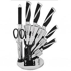 МК-К08 Набор ножей 9 предметов на веерной вращающейся подставке