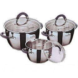 Набор посуды 6 пр (3 каст.1,5л+2,0л+4.0л, 5сл.капсула, мерная шкала)MK-VS5506F