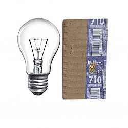 Лампа круглая 60Вт Е14