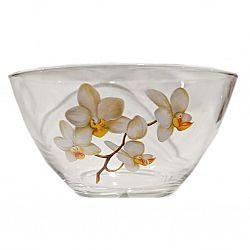 """Салатник д.130мм декор.""""Белая Орхидея"""""""