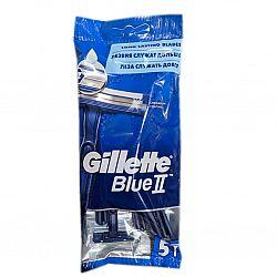 Gillette Blue2 Бритва одноразовая жен.5шт