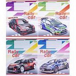 Тетр учен В5 18 лист.клетка Rally Car 3056 20шт