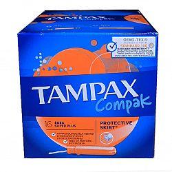Tampax тампоны Super Plus Duo 16шт