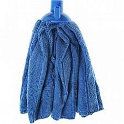 Швабра для пола МОП юбка цветная,кий- дерево 120см