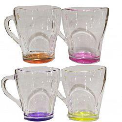Чашка Грация 250мл цветной лак
