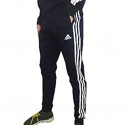 30 Штаны adidas с полосками Т. синие (S.M.L.XL.2XL) (5шт в ростовке)