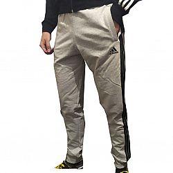 30-1 Штаны adidas с полосками Светло серые (S.M.L.XL.2XL) (5шт в ростовке)