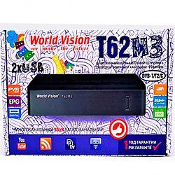 Т2 ресивер тюнер Т2 World Vision T62M3+IPTV