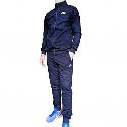 60-1 Костюм мужской Nike Т синий ворот (S.M.L.XL.2XL) (5шт в ростовке)