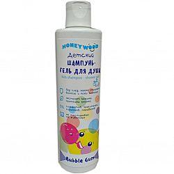 """Дитячий шампунь-гель для душу """"Honeywood"""" Bubble Gum, 250мл"""