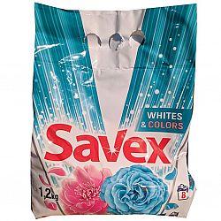 Стиральный порошок Savex 1,2кг авт. parfum lock white$colors