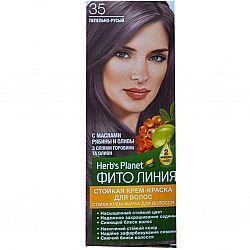 Крем-фарба для волосся Фіто лінія №35 Попелясто -русявий