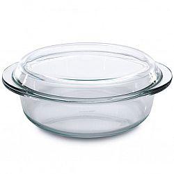 Кастрюля жаропрочное стекло с крышкой 2л МК-GL 420