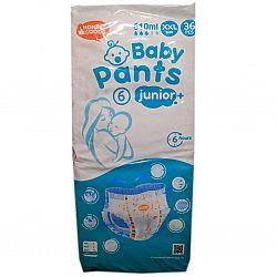 Детские подгузники-трусики Honest Goods 6 Junior +(36шт)