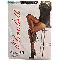 Колготки Elizabeth Clasic 20 ден (6 черные)