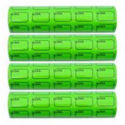 Ценник маленький c рамкой 3*2см Зеленый 100шт (5шт)