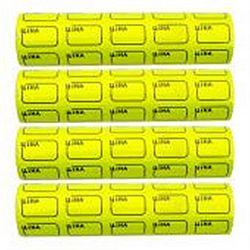 Ценник маленький c рамкой 3*2см Желтый 100шт (5шт)