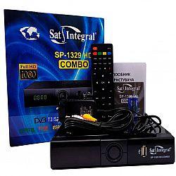 Т2 ресивер+спутниковый тюнер SP 1329 HD COMBO Sat Integral T2/S2