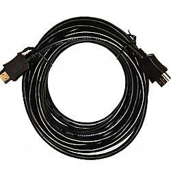 Кабель HDMI-HDMI черный 1,5м